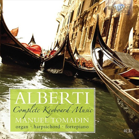 Manuel tomadin - Alberti:Complete keyboard music (CD) - image 1 of 1