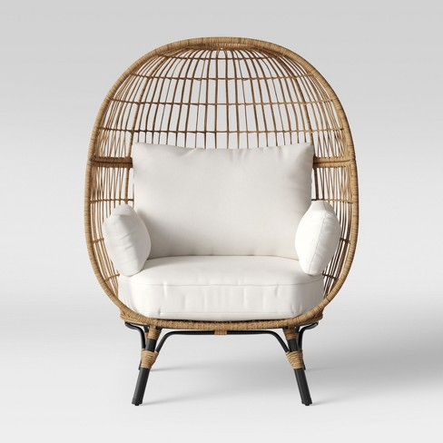 Southport Patio Egg Chair - Linen  - Opalhouse™ - image 1 of 5