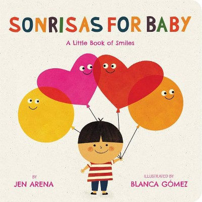 Sonrisas for Baby - by Jen Arena (Board Book)