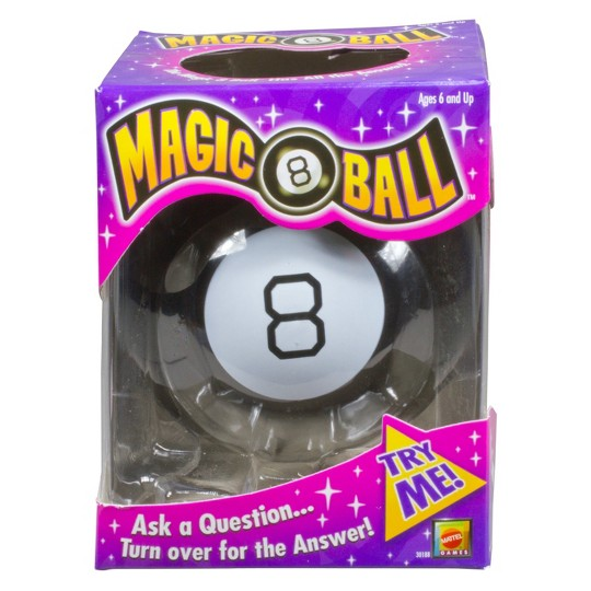 Magic 8 Ball Classic Fortune-Telling Novelty Toy image number null