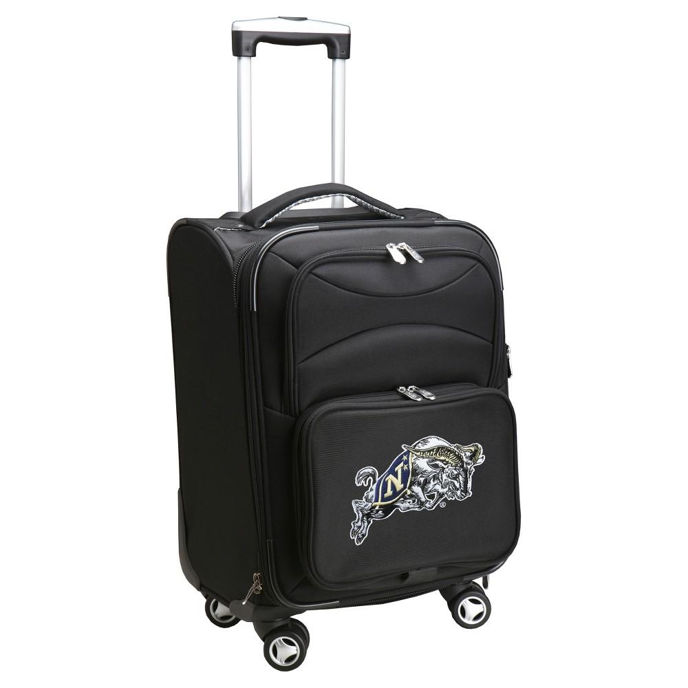 NCAA Navy Midshipmen Spinner Carry On Suitcase