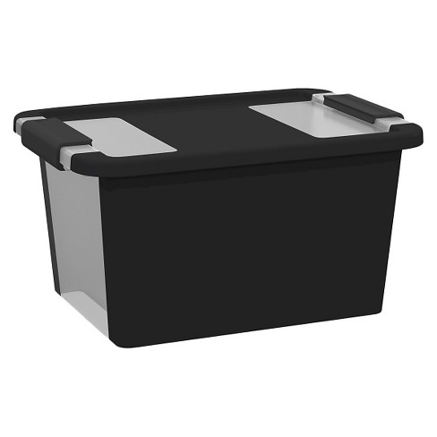 Utility Storage Bin - Black - Small - KIS - image 1 of 1