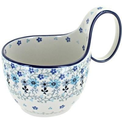 Blue Rose Polish Pottery Celeste Soup Mug