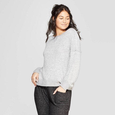 b2c0654186f Women s Perfectly Cozy Lounge Sweatshirt - Stars Above™   Target