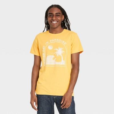 Men's Regular Fit Short Sleeve Crewneck Graphic T-Shirt - Goodfellow & Co™
