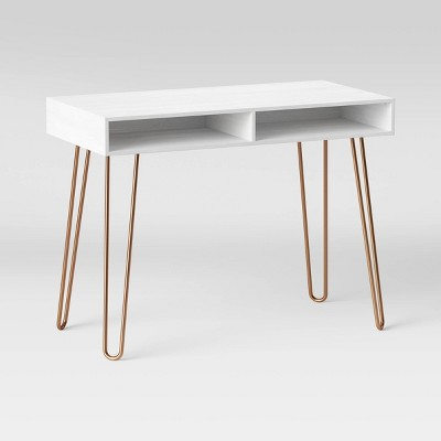 Hairpin Writing Desk with Storage - Project 62™