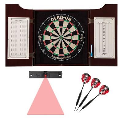 Viper Hudson Dartboard Cabinet with Darts and Dart Laser Line