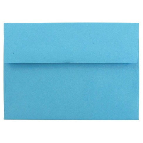 jam paper brite hue a7 envelopes 5 25 x 7 25 50 per pack target