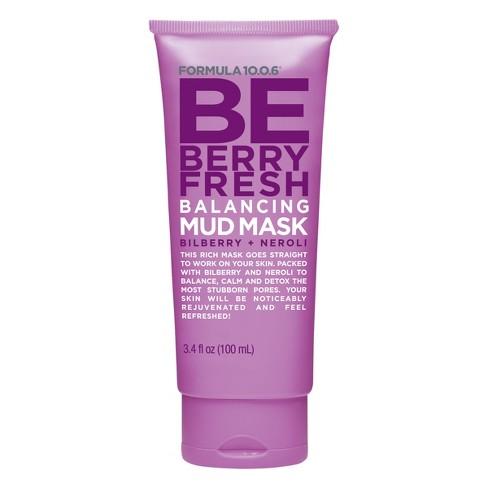 Formula 10.0.6 Be Berry Fresh Balancing Mud Mask - 100ml - image 1 of 1