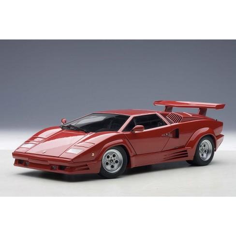 Lamborghini Countach 25th Anniversary Edition Red 1 18 Diecast Model