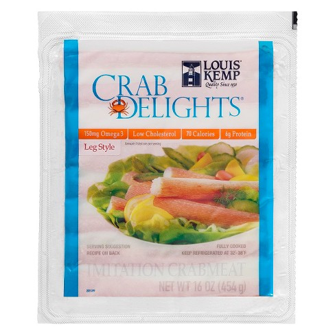 Louis Kemp Crab Delights Leg Style -16oz - image 1 of 1