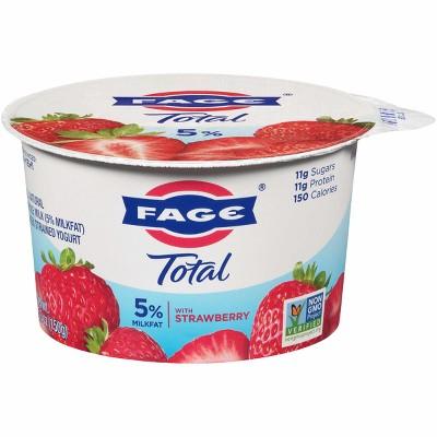 FAGE Total 5% Milkfat Strawberry Greek Yogurt - 5.3oz