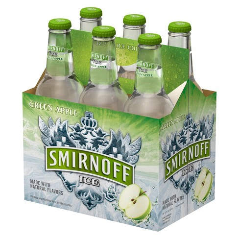 Smirnoff® Green Apple - 6pk / 12oz Bottles - image 1 of 1