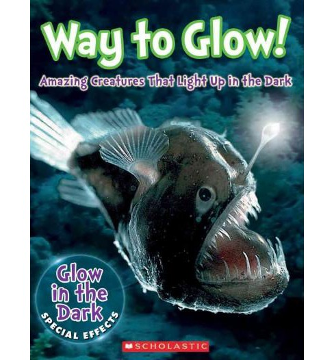 Way to Glow! : Amazing Creatures That Light Up in the Dark (Hardcover) (Lisa Regan) - image 1 of 1