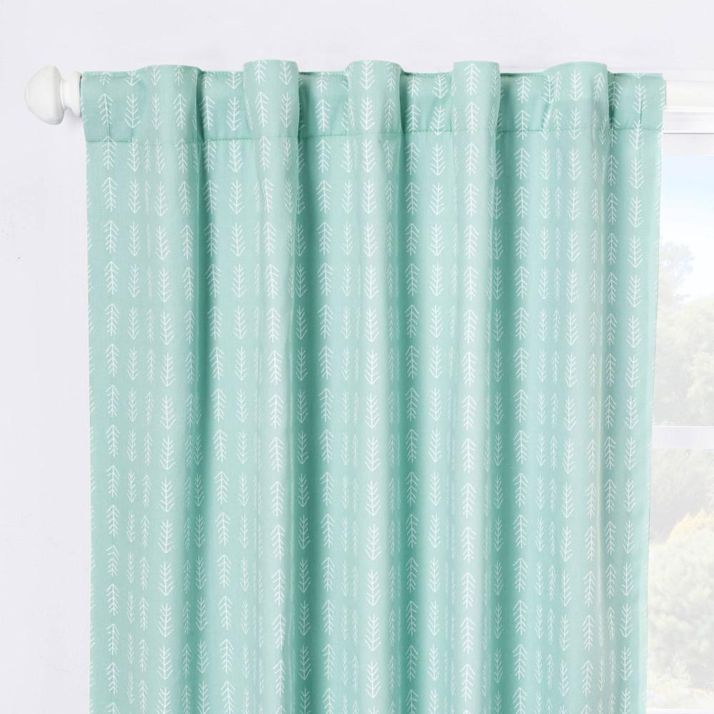 Blackout Curtain Panel Arrows 42 34 X 84 34 Cloud