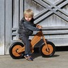 Kinderfeets Durable Wooden Resting Pedal Starter Balance Bike and Toddler Training Bicycle Sturdy Ride On Toy for 2 Years and Older, Bamboo - image 3 of 4