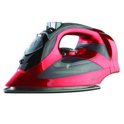Brentwood Steam Iron With Retractable Cord - Black