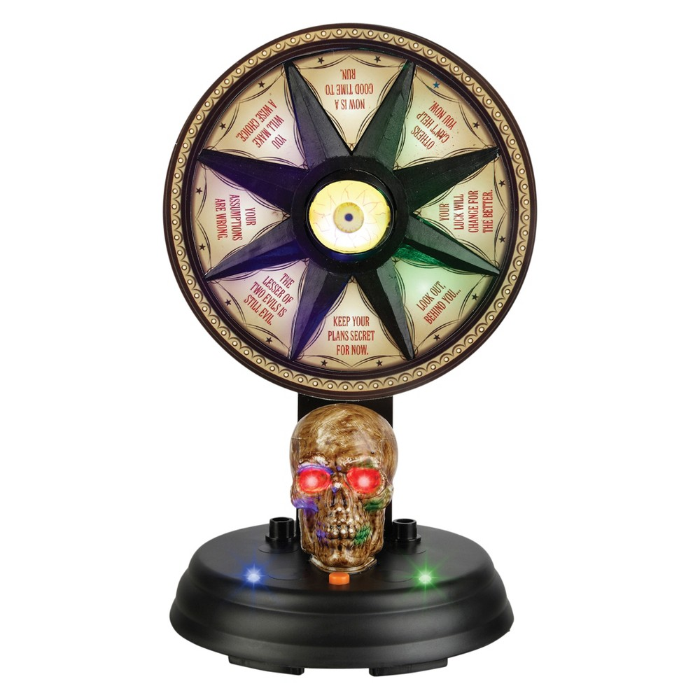 "Image of ""11"""" Halloween Animated Mystic Wheel"""