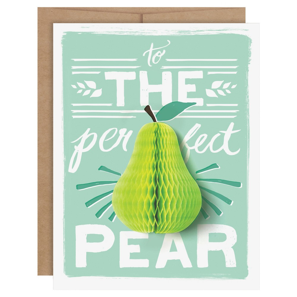 34 The Perfect Pear 34 Pop Up Card