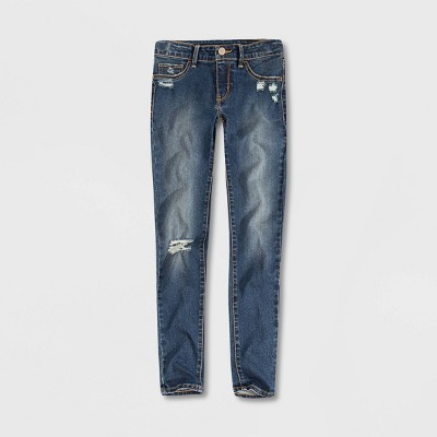 Levi's® Girls' Mid-Rise Super Skinny Jeans