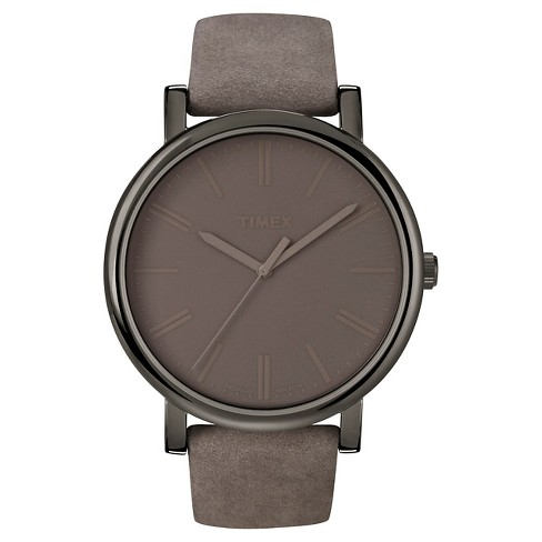 Timex Originals Watch with Suede Strap - Gray T2N7952B - image 1 of 1