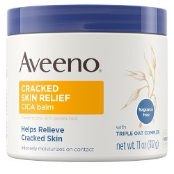 Aveeno Cracked Skin Relief Moisturizing CICA Balm with Oat - 11oz