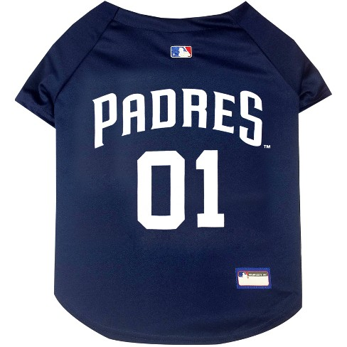 ecd065bf San Diego Padres Pets First Pet Baseball Jersey - Navy XS