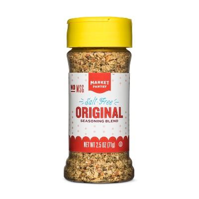 Salt Free Original Seasoning Blend - 2.5oz - Market Pantry™