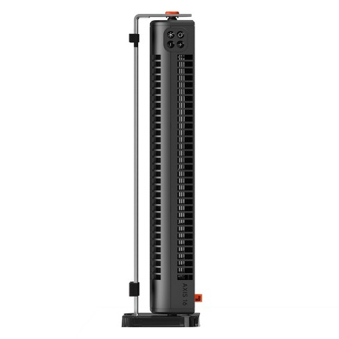 Sharper Image Axis 16 Tower Fan Black - image 1 of 4