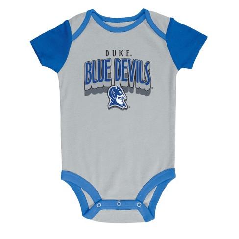 3518e568211 NCAA Baby Boys  3pk Bodysuit Duke Blue Devils - 6-9M   Target