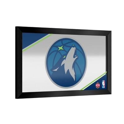 NBA Minnesota Timberwolves Team Logo Wall Mirror