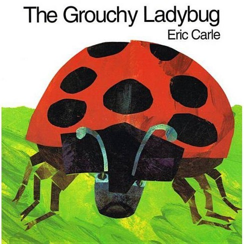 The Grouchy Ladybug - by  Eric Carle (Hardcover) - image 1 of 1