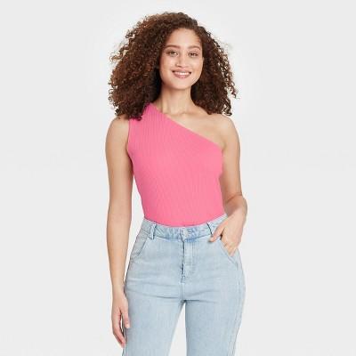 Women's One Shoulder Tank Top - Who What Wear™