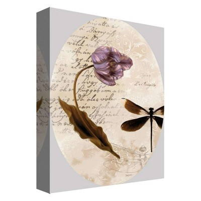 """11"""" x 14"""" Dragonfly Decorative Wall Art - PTM Images"""