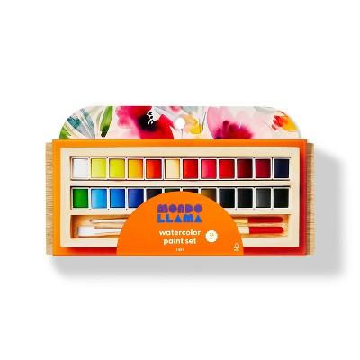 24ct Watercolor Paint Set - Mondo Llama™