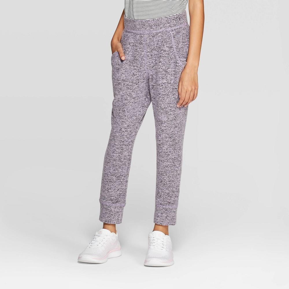 Girls' Cozy Jogger Pants - C9 Champion Lilac Purple L