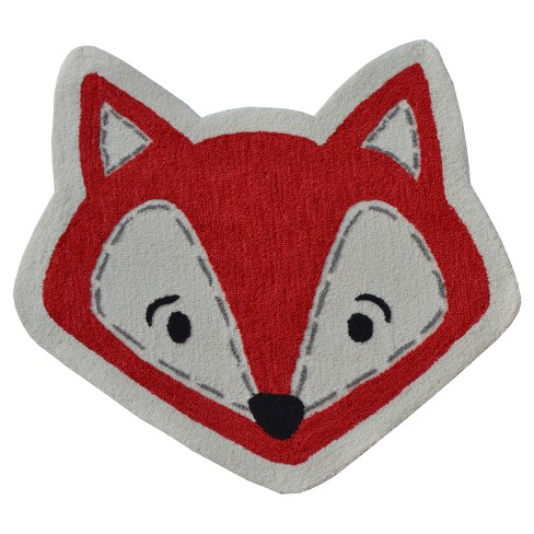 Red Fox Rug (3'x3') -  The Rug Market - image 1 of 1
