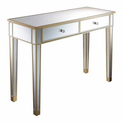 Gold Coast Mirrored Desk - Breighton Home
