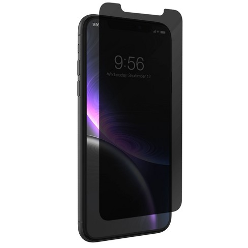 ZAGG Apple iPhone XR InvisibleShield Glass+ Privacy Screen Protector - image 1 of 3