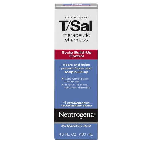 Neutrogena T/Sal Scalp Build-Up Control Therapeutic Shampoo - 4.5oz - image 1 of 4