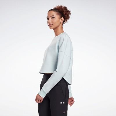 Reebok DreamBlend Cotton Midlayer Sweatshirt Womens