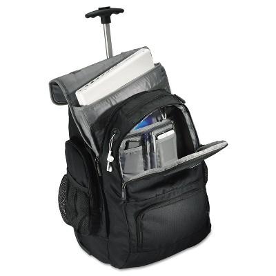 Samsonite Rolling Backpack 14 x 8 x 21 Black/Charcoal 178961053