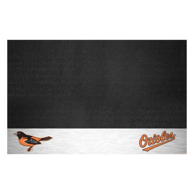 """MLB Baltimore Orioles 26""""x42"""" Grill Mat - Silver"""