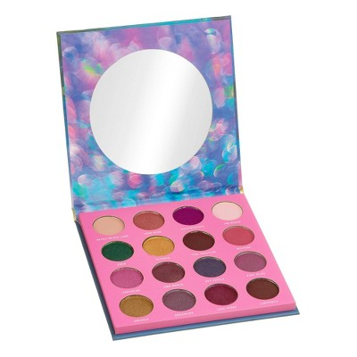 Color Story 16 Shade Pressed Pigment Eyeshadow Palette - Fantasia - 0.54oz