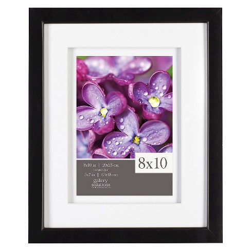 """5"""" x 7"""" Frame Black - Gallery Solutions - image 1 of 4"""