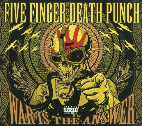 Five finger death pu - War is the answer [Explicit Lyrics] (CD) - image 1 of 1