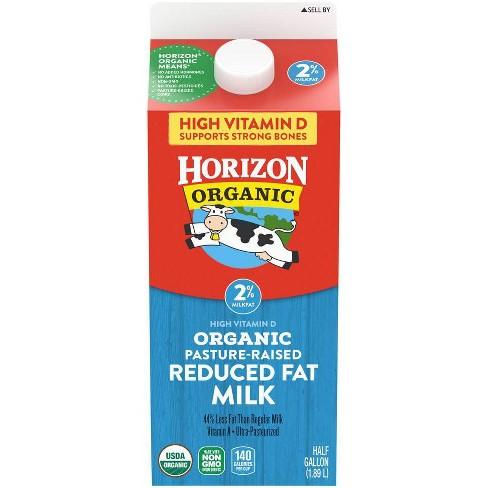 Horizon Organic 2% Milk - 0.5gal : Target