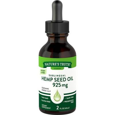 Nature's Truth Hemp Seed Oil - 2 fl oz