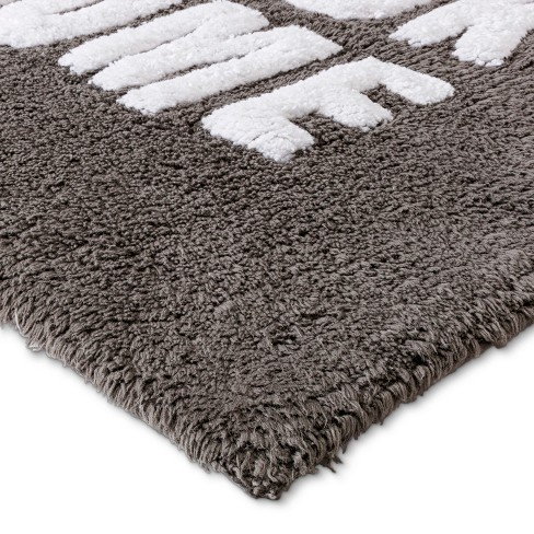 tufted so fresh bath rugs and mats pigeon gray room essentials target - Target Bathroom Rugs