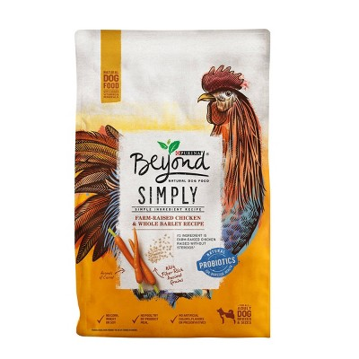 Purina Beyond Simply Probiotics White Meat Chicken & Whole Barley Recipe Dry Dog Food - 3.7lbs